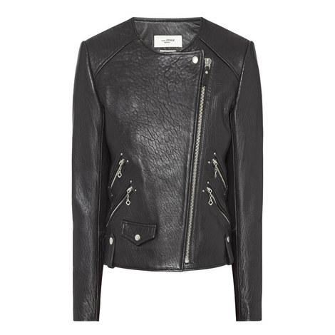 Kankara Leather Biker Jacket, ${color}
