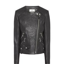 Kankara Leather Biker Jacket