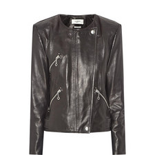 Grinly Leather Jacket