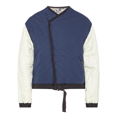 Hanae Short Quilted Jacket , ${color}