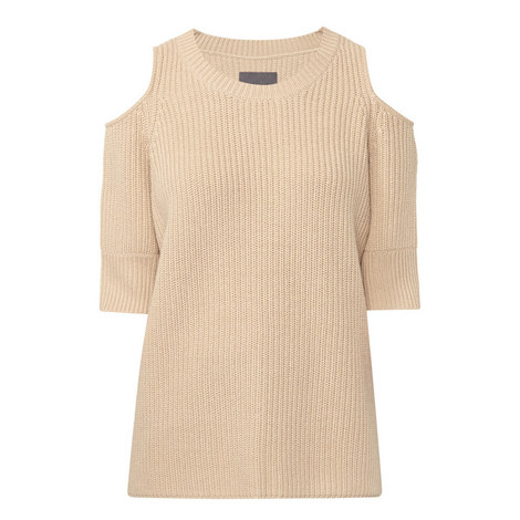 Dias Wool Mix Cut-Out Sweater, ${color}