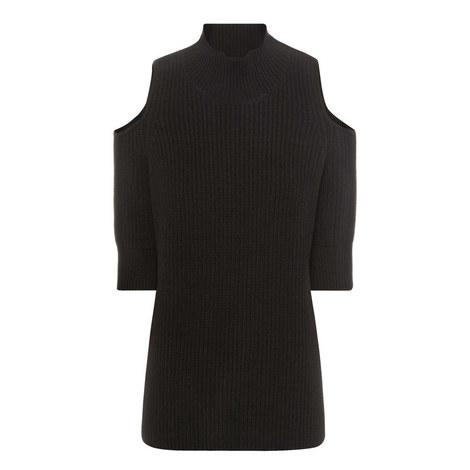 Gondola Cut-Out Shoulder Sweater, ${color}