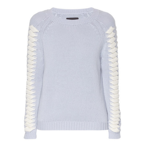 Goodall Knitted Wool Mix Sweater, ${color}