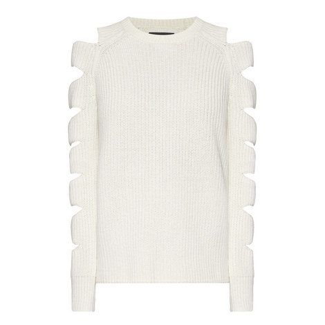 Locke Cut-Out Knitted Sweater, ${color}
