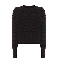 Volta Cropped Knitted Sweater