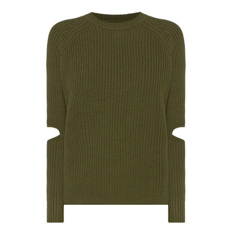 Turing Cut-Out Sweater, ${color}
