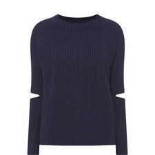 Turing Elbow Slit Sweater