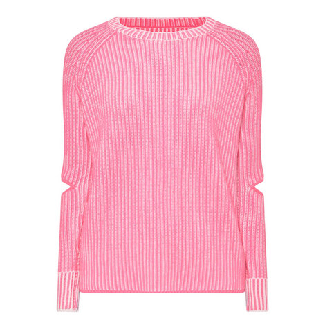 Turing Elbow Slit Sweater, ${color}