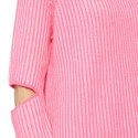Turing Elbow Slit Sweater , ${color}