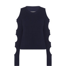 Galen Cut-Out Sweater