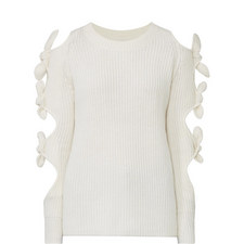 Lovelace Cut-Out Sweater