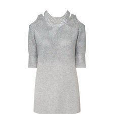 Aristotle Cold Shoulder Sweater