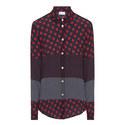 Dot Print Shirt, ${color}