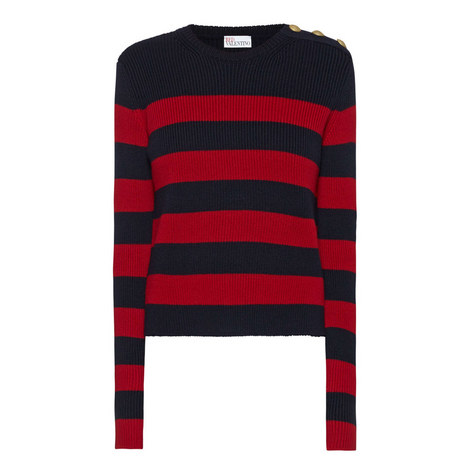 Block Stripe Wool Sweater, ${color}