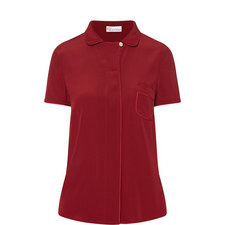 Short Sleeve Silk Shirt