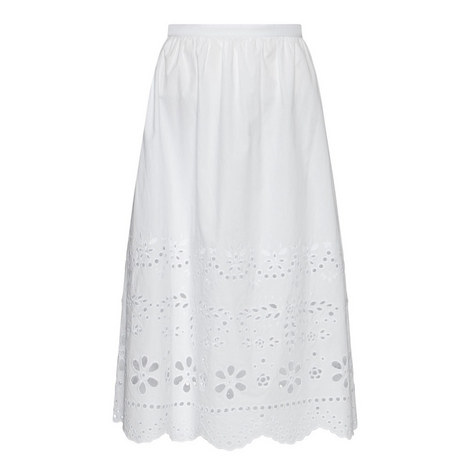 Broderie Anglaise Midi Skirt, ${color}