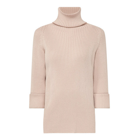 Polo Neck Wool Sweater, ${color}