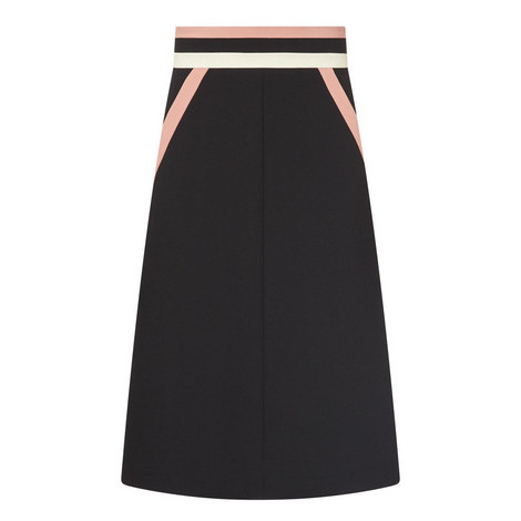 Crepe Midi Skirt, ${color}