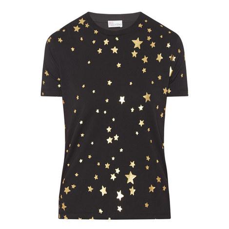 Star Print T-Shirt, ${color}