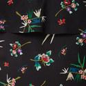 Cape Top Floral Dress, ${color}