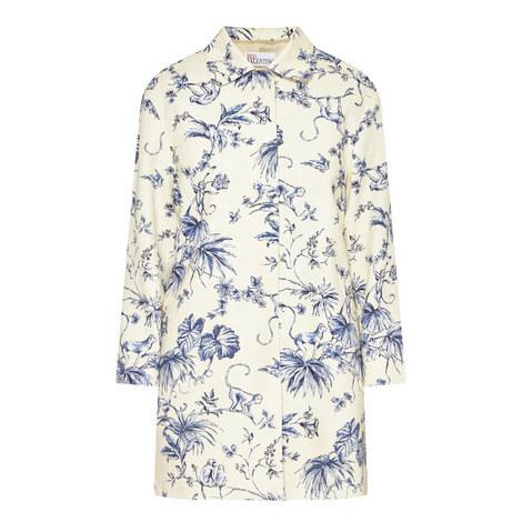 Flower Print Coat, ${color}