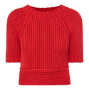Cropped Open Back Sweater, ${color}