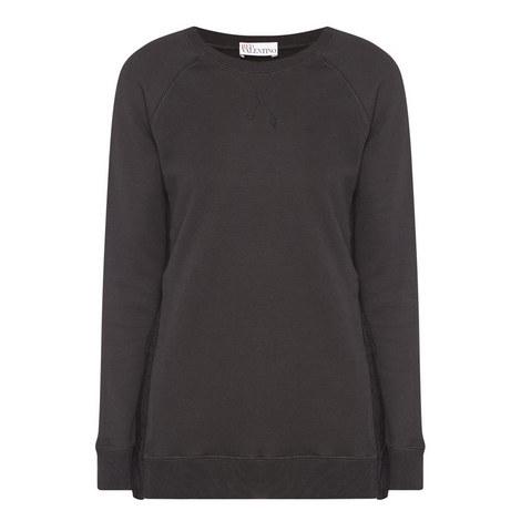 Lace Side Sweatshirt, ${color}
