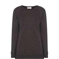 Lace Side Sweatshirt