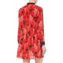 Long Sleeve Monkey Print Dress, ${color}