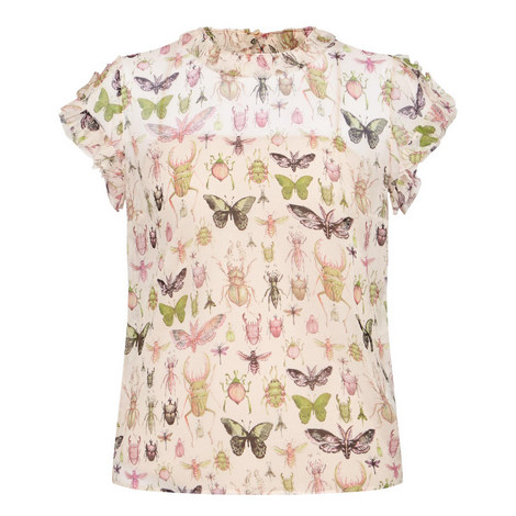 Insect Print Top, ${color}