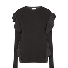 Ruffle Side Sweater