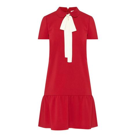 Tie Collar Dress , ${color}