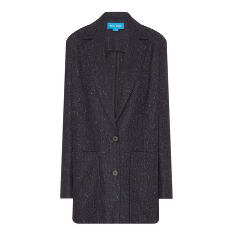 Dylan Relaxed Fit Wool Jacket, ${color}