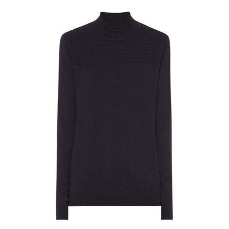 Milano High Neck Merino Wool Sweater, ${color}
