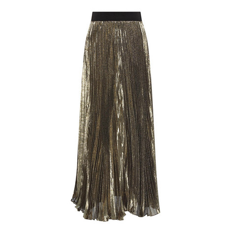 Katz Pleated Maxi Skirt, ${color}
