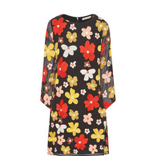 Eleanora Floral Embroidered Mini Dress