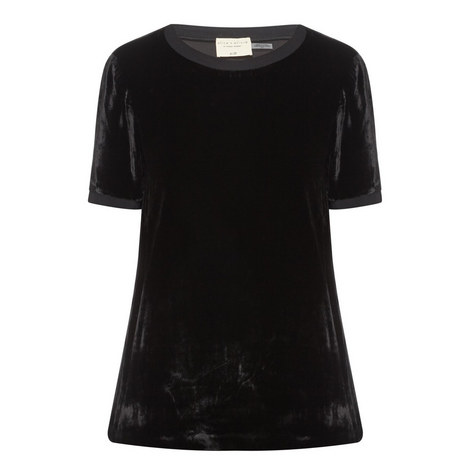 Piera Velvet T-Shirt, ${color}