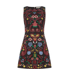 Lindsey Embroidered Dress