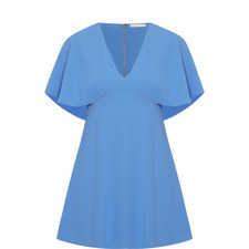 Krysta Cape Sleeve Dress