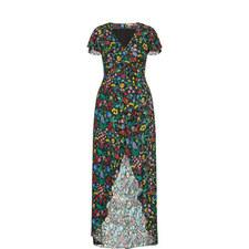 Adriana Wildflower Maxi Dress