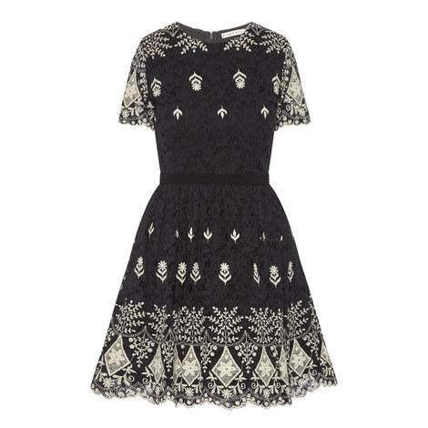 Nigel Embroidered Dress, ${color}