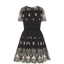 Nigel Embroidered Dress