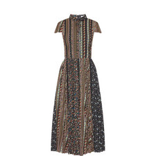 Bale Pleated Floral Dress