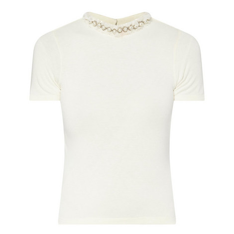 Jazmine Pearl Neck Top, ${color}