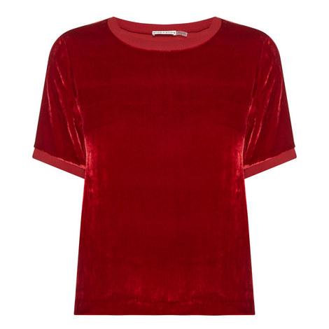 Piera Velvet T-Shirt, ${color}