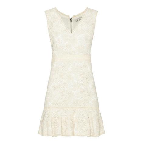 Onella Floral Lace V-Neck Dress, ${color}