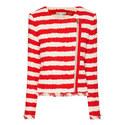Stanton Frayed Stripe Jacket, ${color}