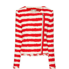 Stanton Frayed Stripe Jacket