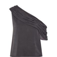 Serita Draped Sleeve Top