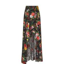 Kirstie Cascade Overlap Skirt